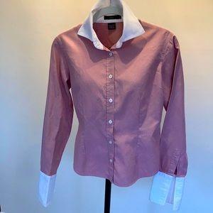 Alara French Cuff Oxford Cloth Shirt Size S